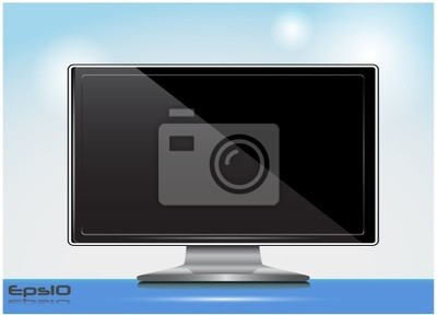 Poster Vector tv
