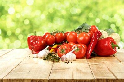 Poster vegetables