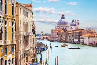 Poster Venice. Grand Canal