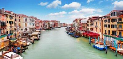 Poster Venice - Rialto bridge and Grand Canal