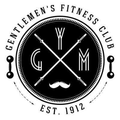 Poster Vintage gym logo