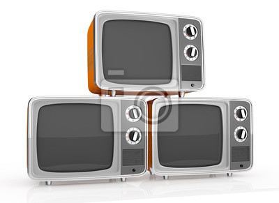 Poster vintage tv