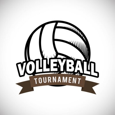 Poster Volleyball design