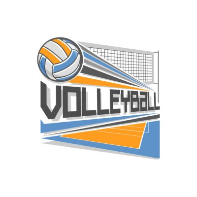 Poster Volleyball logo