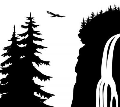 Poster Waterfall.