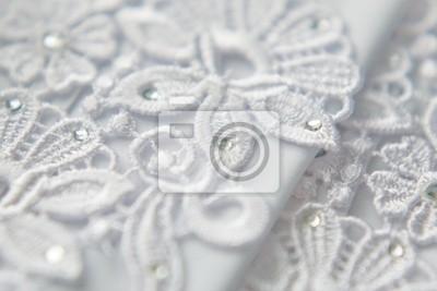 Wedding lace background
