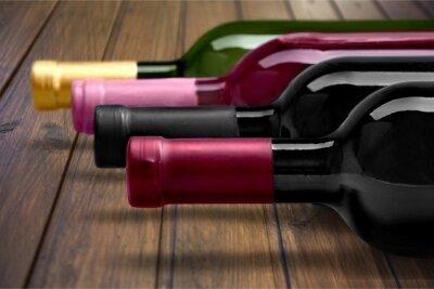 Poster Wine Bottle.