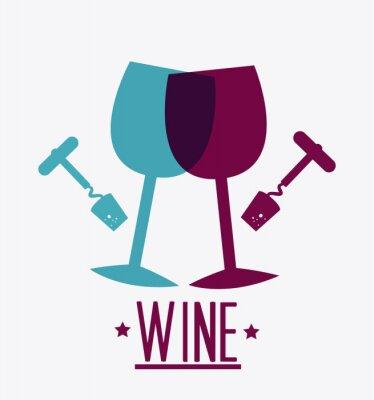 Poster Wine design.