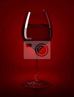 wine glass & wine
