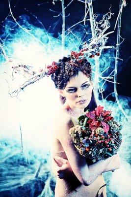 Poster winter bouquet