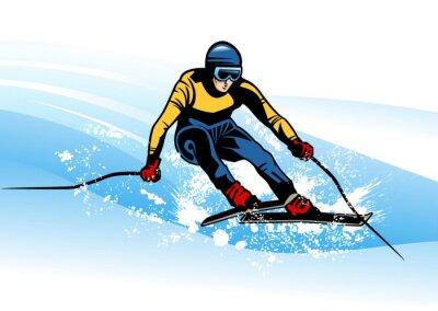 Poster winter sport