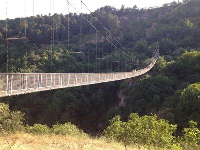 Poster Подвесной мост