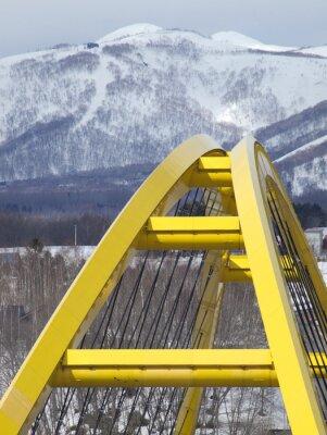 Poster 北海道 ニセコ大橋