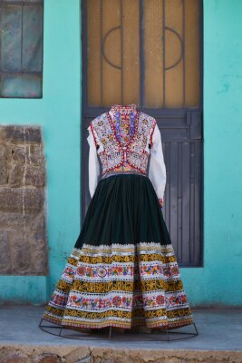 Poster ペルーの民族衣装