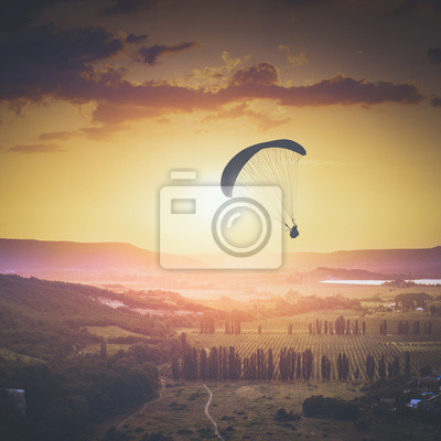 Above Kachinskaya valley. Instagram stylisation