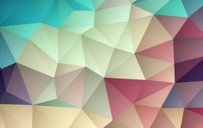 Sticker Abstract color mosaic background. Vector illustration
