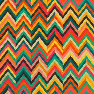 Sticker Abstract color vintage retro seamless pattern background
