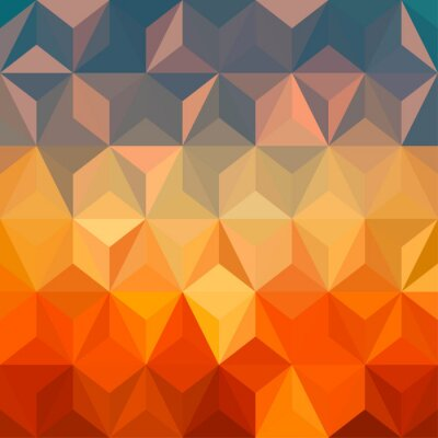 Sticker Abstract colorful background design