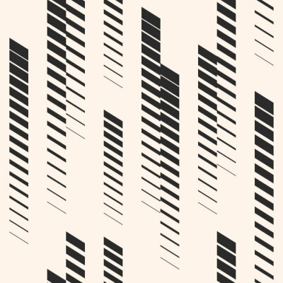 Sticker Abstract graphic seamless pattern with vertical lines, tracks, halftone stripes. Sports pattern. Urban pattern.