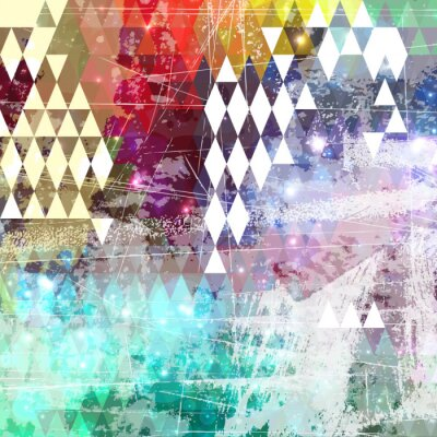 Sticker Abstract grunge style background with distressed effect