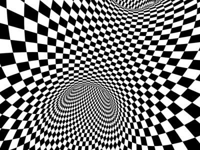 Sticker Abstract illusion