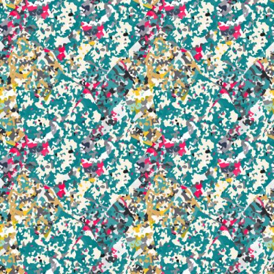 Sticker Abstract seamless pattern with colorful noise