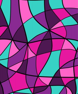 Sticker Abstract stained glass background