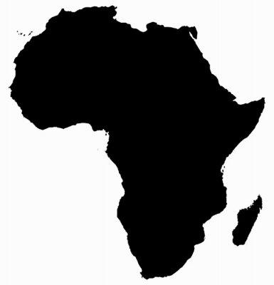 Sticker Africa Map