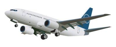 Sticker Airplane