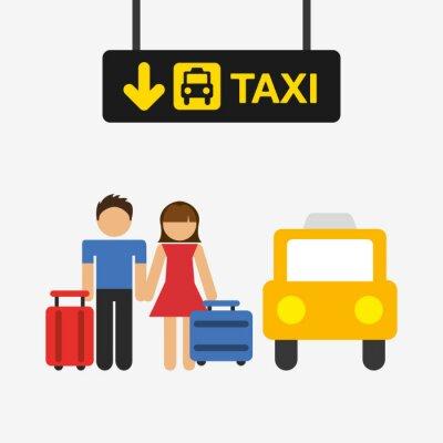 Sticker airport terminal design