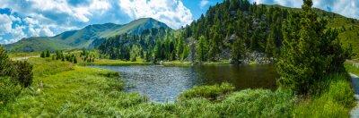 Sticker Alpine landscape