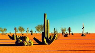 Sticker American desert