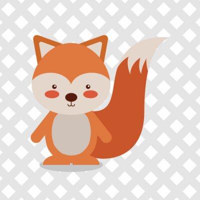 Sticker animal cartoon design