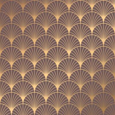 Sticker Art Deco Pattern