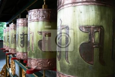 artefact sacré tibetain