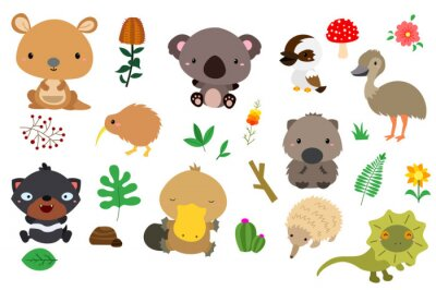 Sticker australia nature (no background)