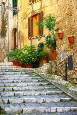 Sticker authentic medieval villages of Italy - Casperia