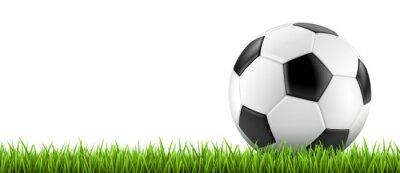 Sticker Ballon de football vectoriel 2