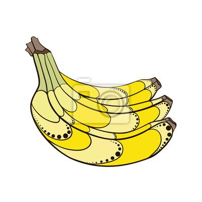 Sticker BananaDecorative