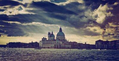 Sticker Basilica di Santa Maria della Salute in Venice