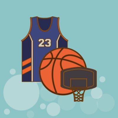 Sticker Basketball icon design