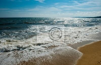 Beach on the Cote d'Azur