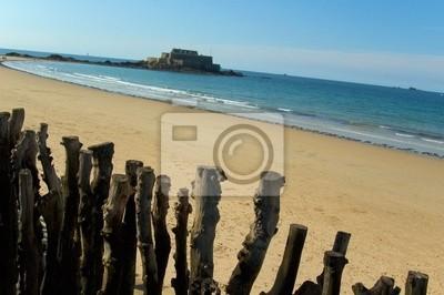 beach saint malo