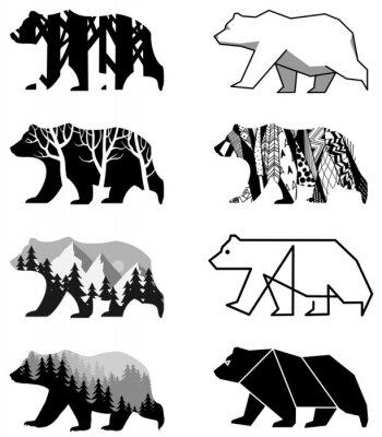 Sticker bears set