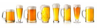 Sticker beer glass