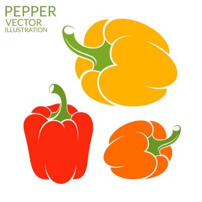 Sticker Bell Pepper