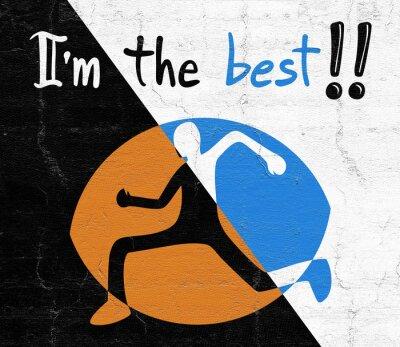 Sticker best sport message