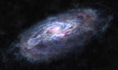Sticker Beyond the galaxy