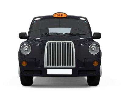 Sticker Black London Taxi