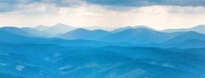 Sticker Blue mountains